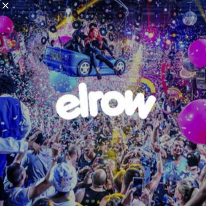 1 x Elrow Town, Edinburgh, Ticket