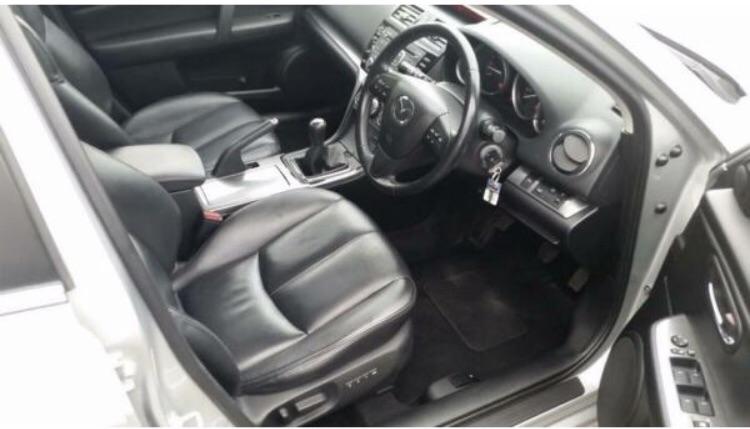 Mazda 6, 2011, Silver , manual , diesel hatchback , 120000