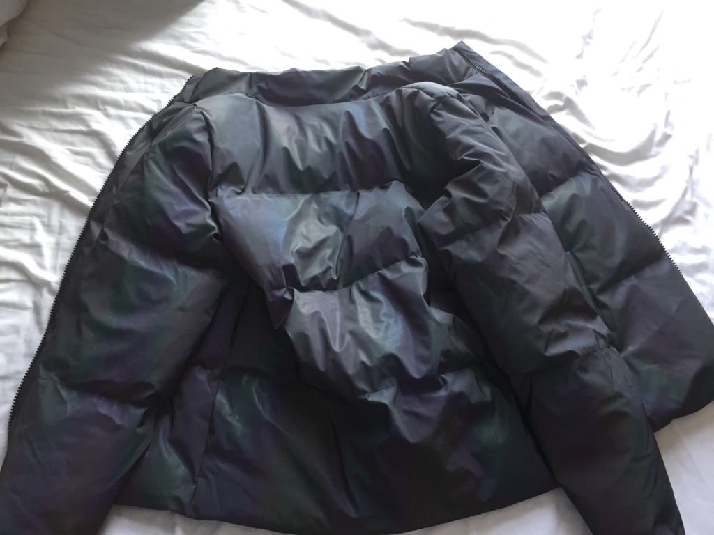 ASOS Reflective Festival Puffer Jacket