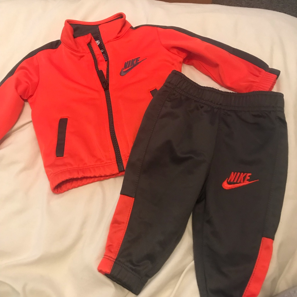 Baby Nike tracksuit