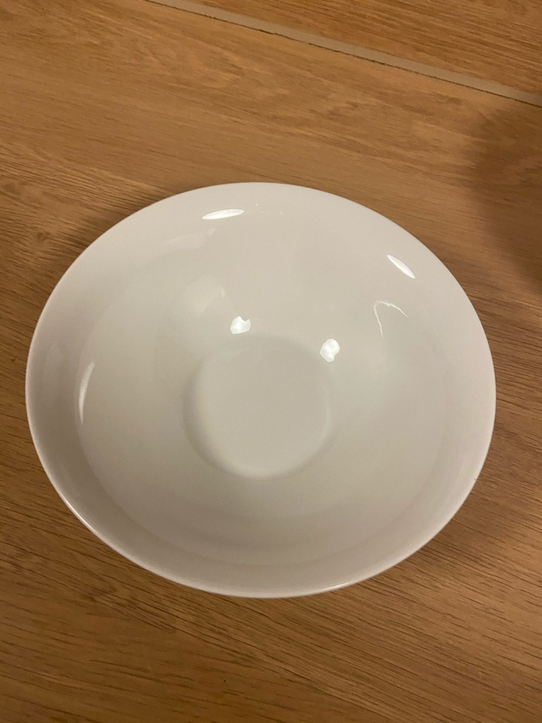 White/Beige Bowl/s or deep plates (individual or pack of 3)