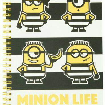 Despicable Me 3 Sprial Notebook