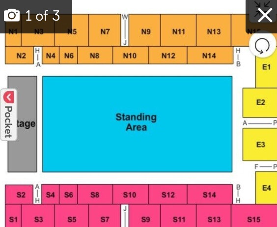(PRICE NEGOTIABLE-URGENT) N13 ROW BLACK PINK TICKET 22nd MAY 2019!!!!