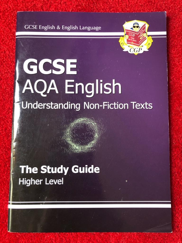 GCSE AQA English