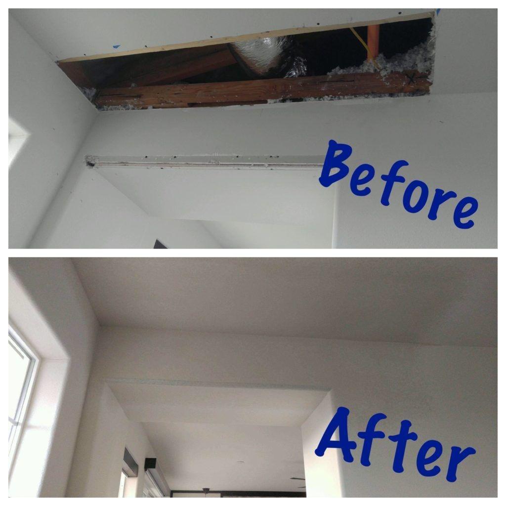 Drywall Repair Reparo Drywall