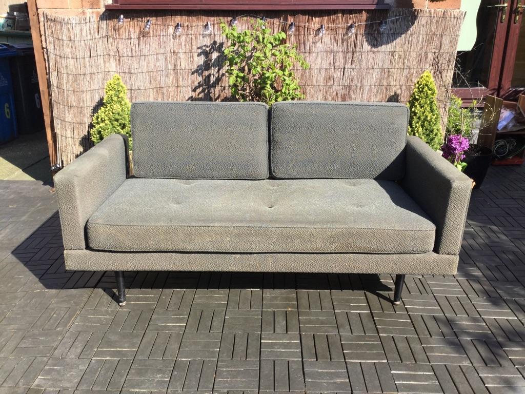 Vintage danish sofa bed