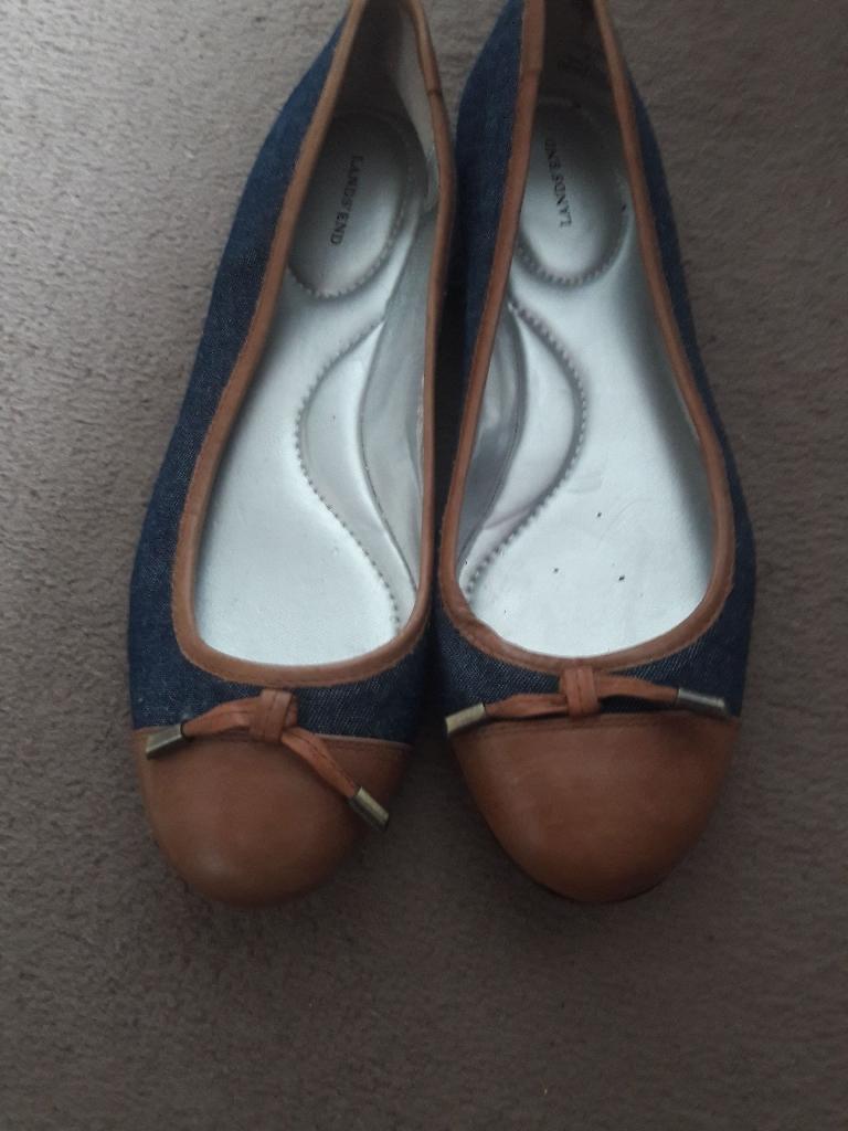 Denim  shoes size  6 hardly worn .