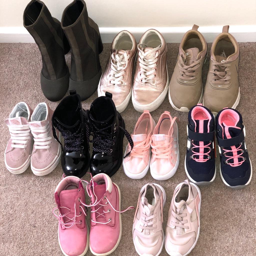 Ladies & kids shoes