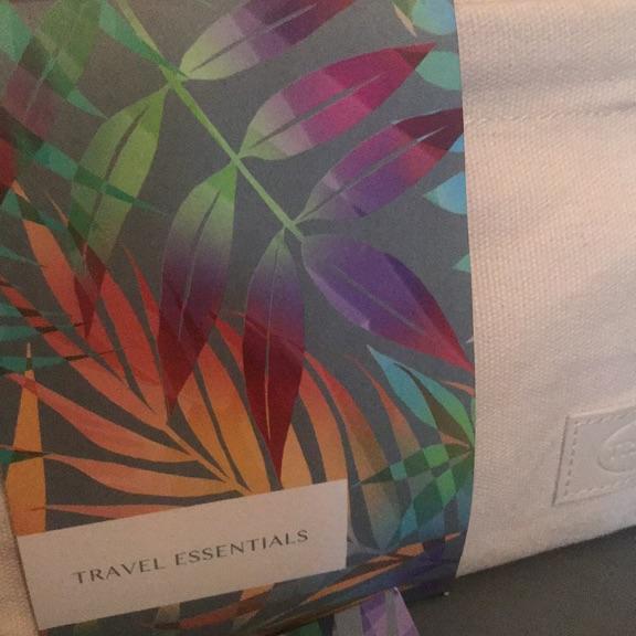 Travel essentials. Facial products.