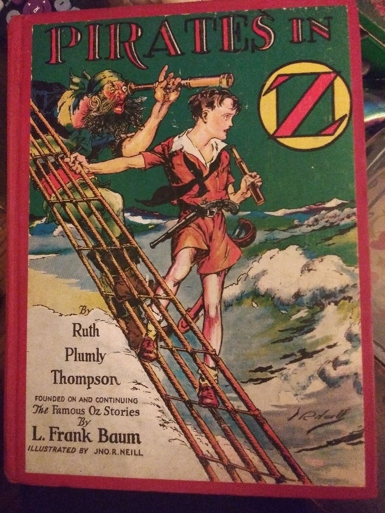 Pirates in Oz. First edition.