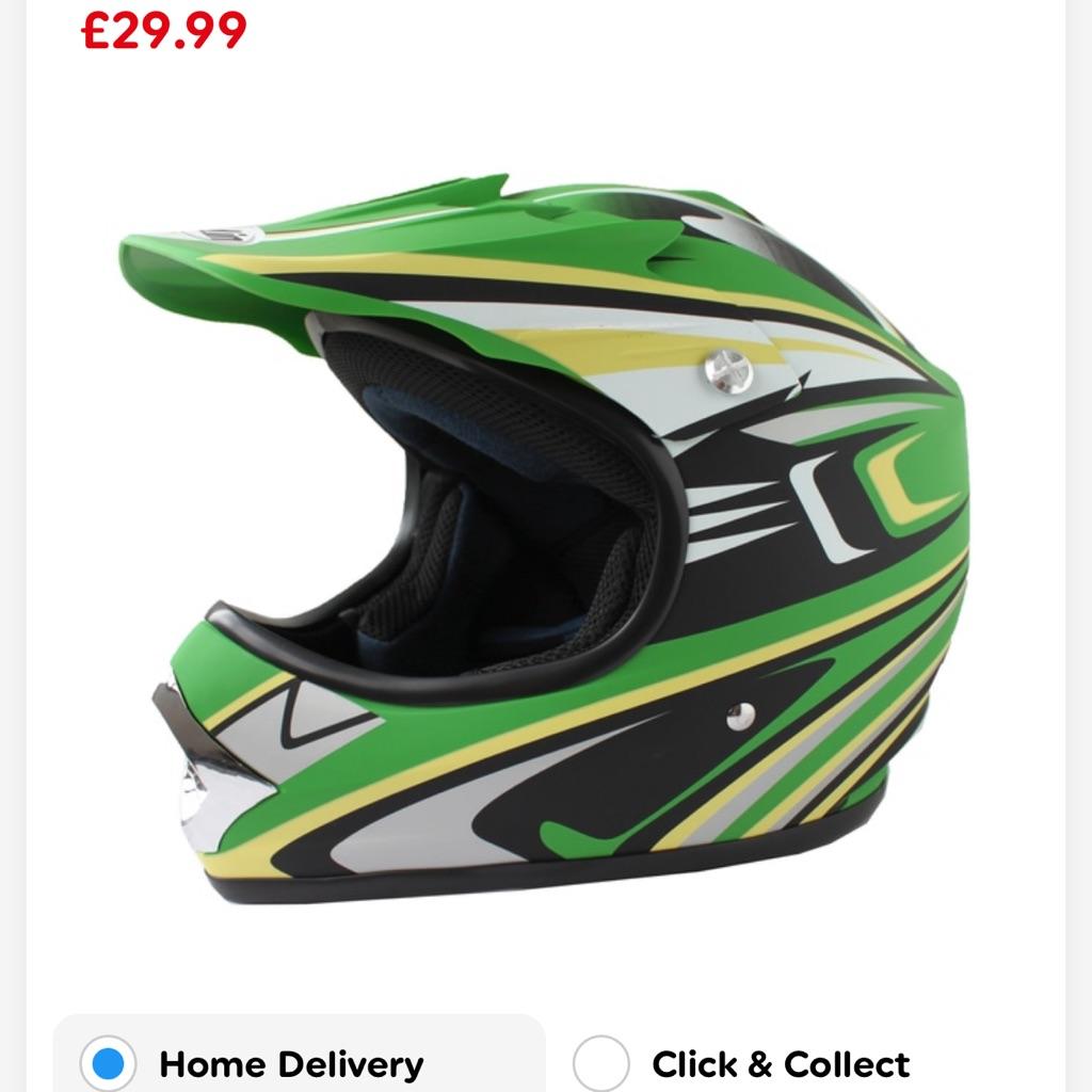 Kids Moto cross helmet