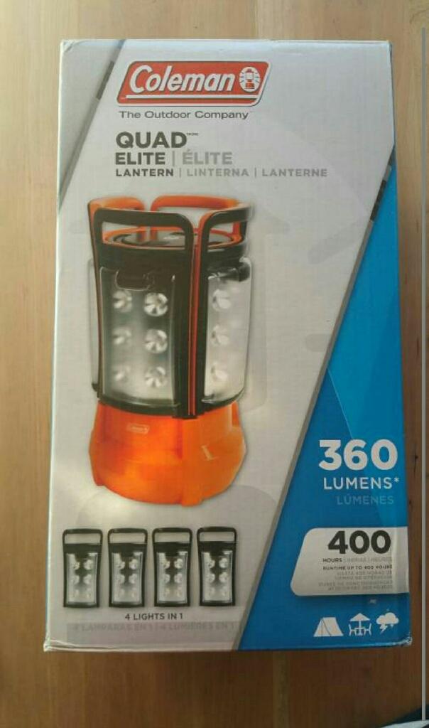 Brand new Coleman lantern