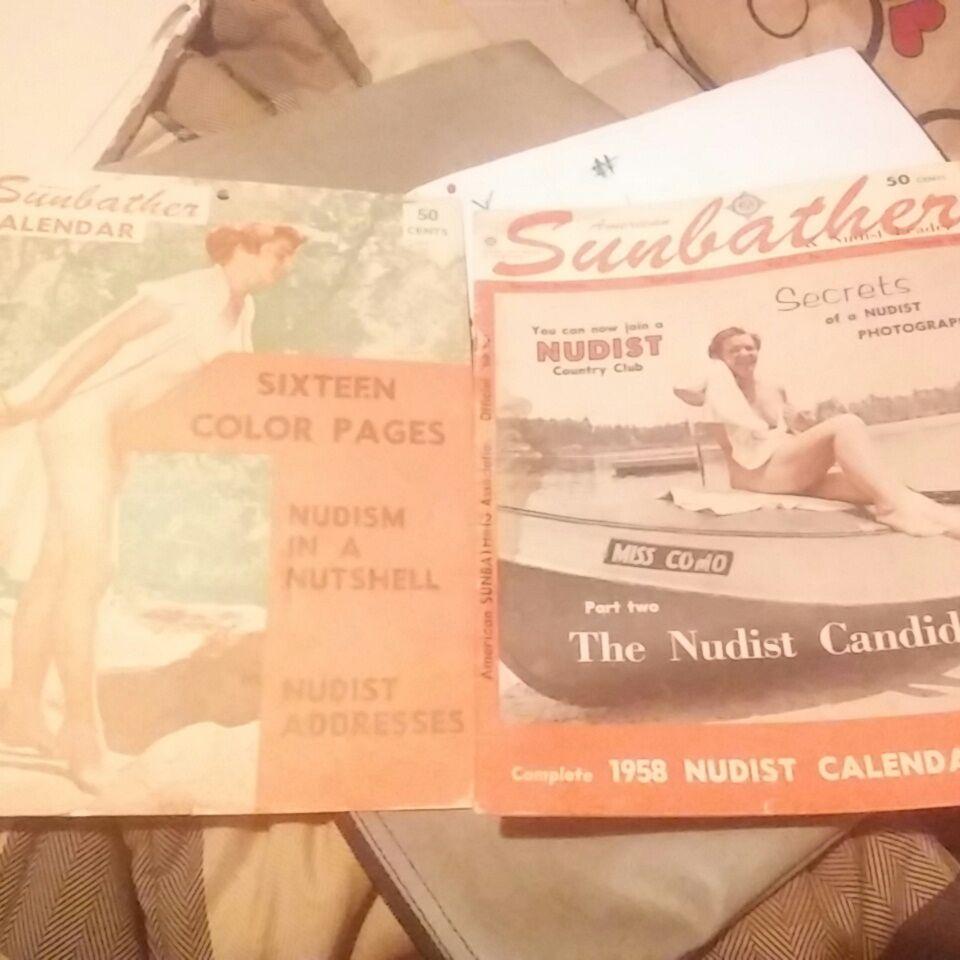 American Sunbather & Nudist Leader magazines