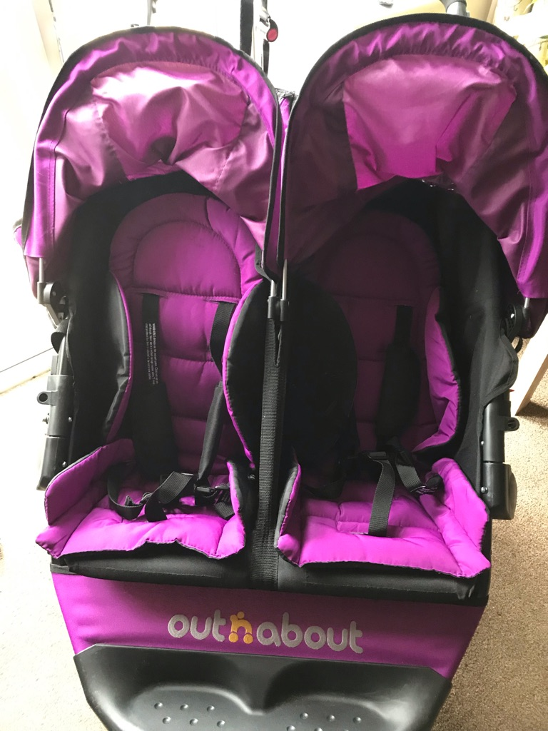 Double out and about pushchair.