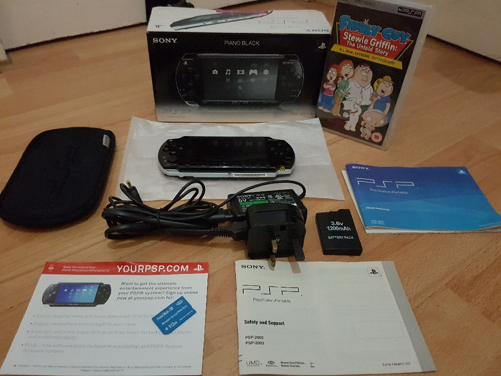 Play station portable model 2003 bundle