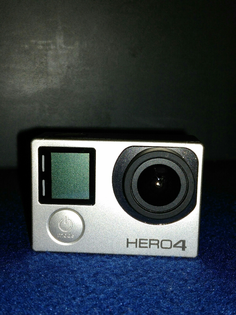 Hero4 Digital Camera (Silver Edition)