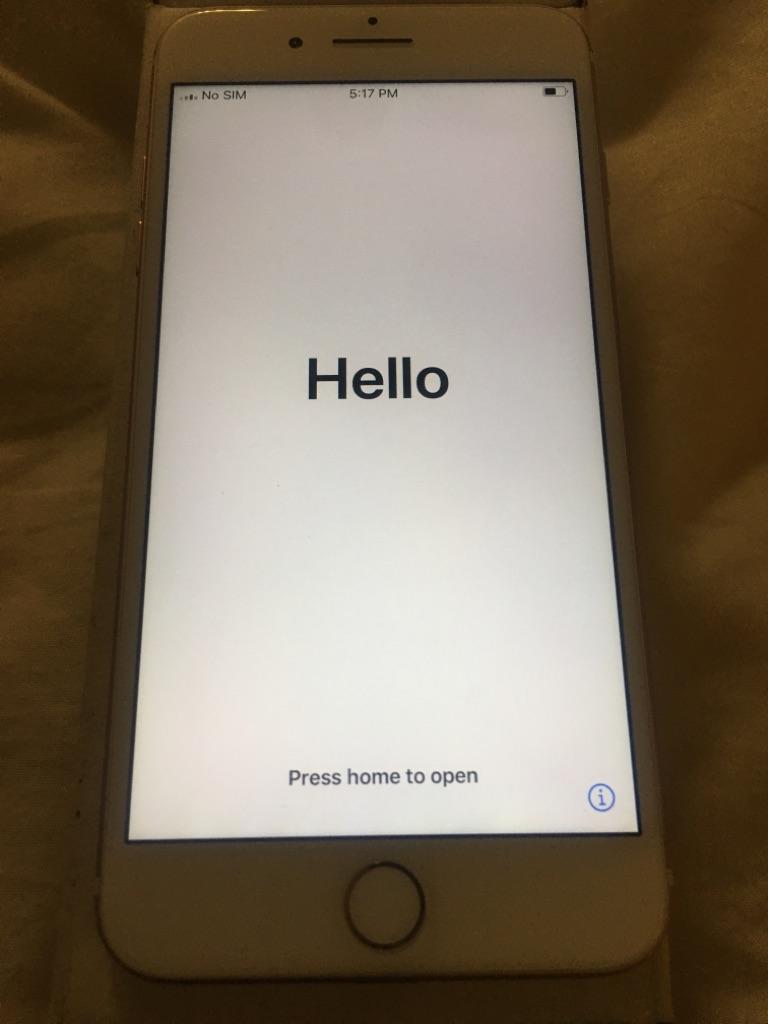 Rose Gold iPhone 7 Plus - 128GB (Unlocked)