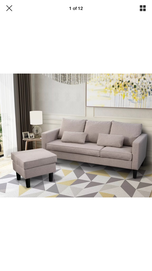 Small Corner sofa- brand new