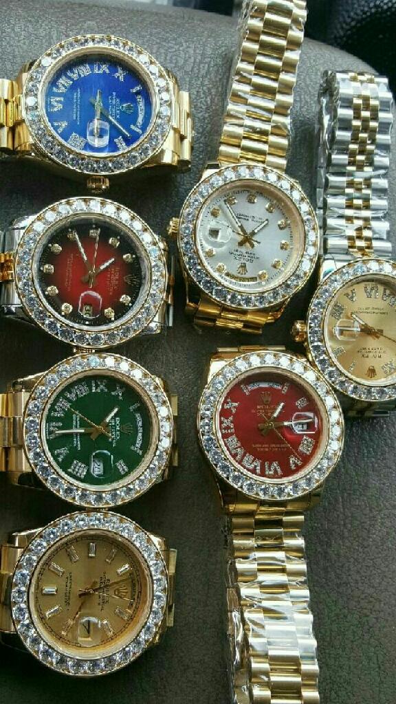 Diamond Rolex watches