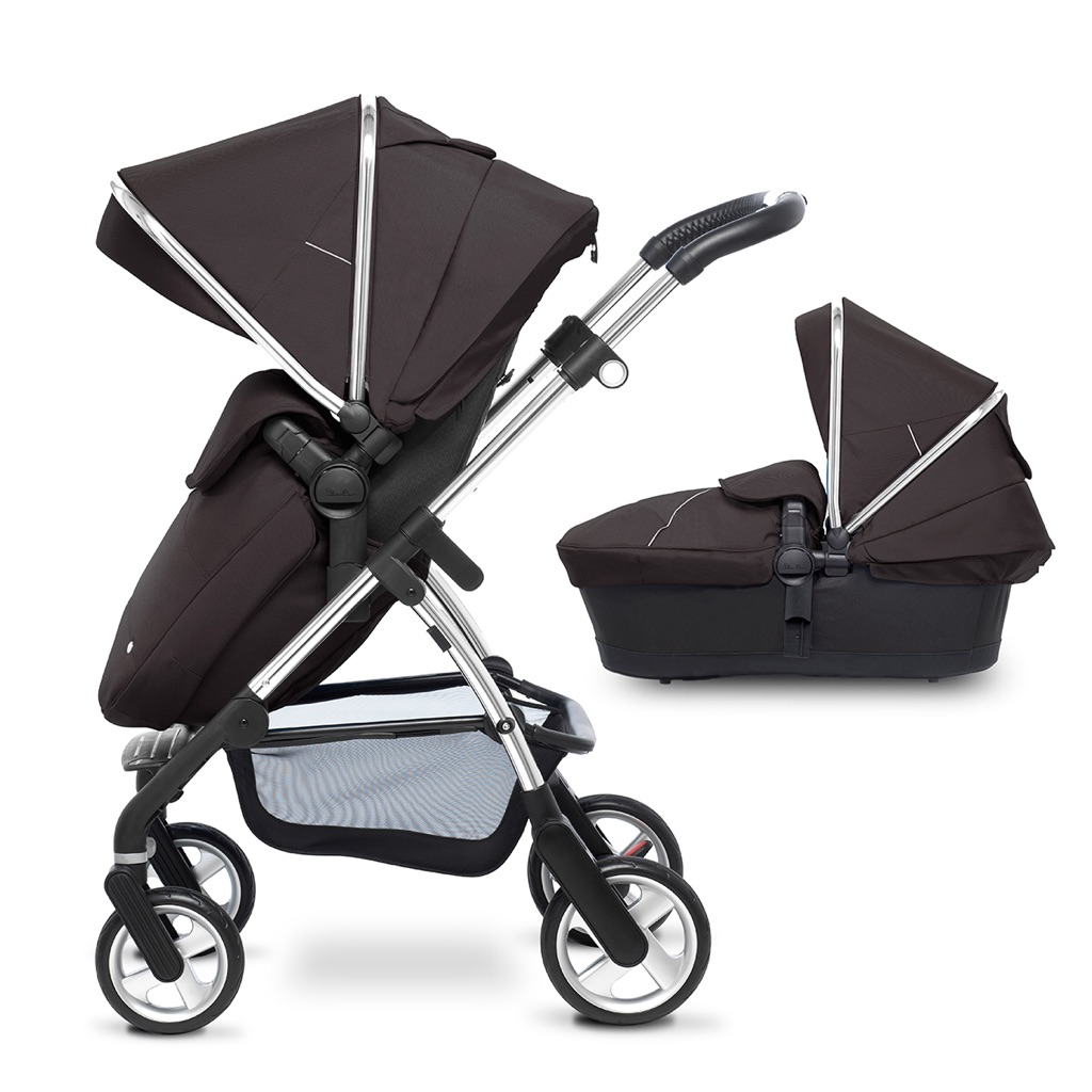 Silver Cross Wayfarer pram and car seat