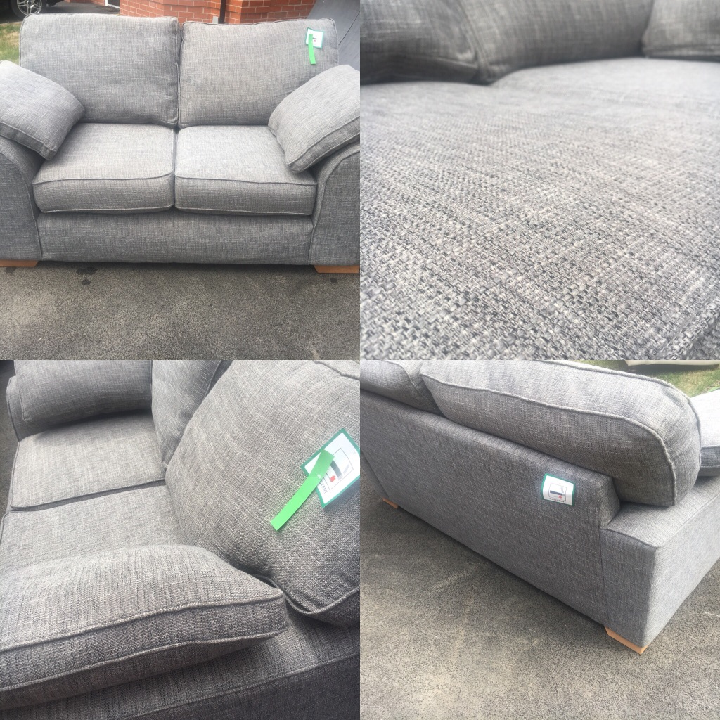 M&S grey 2 seater Nantucket sofa