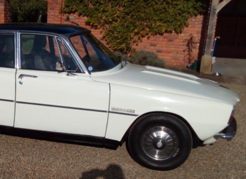 Classic Rover P6 auto