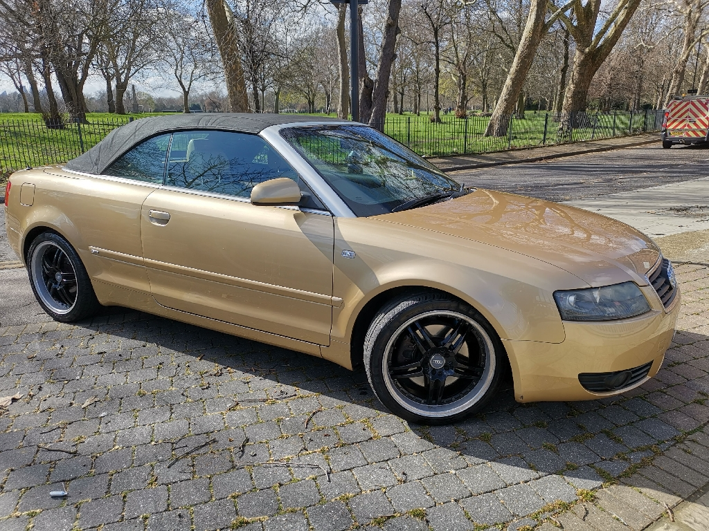 2003 Audi A4 Convertible 2 owners well serviced
