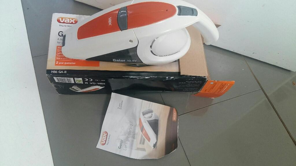 VAX GATOR H86-GA-B 10.8V HANDHELD VACUUM CLEANER
