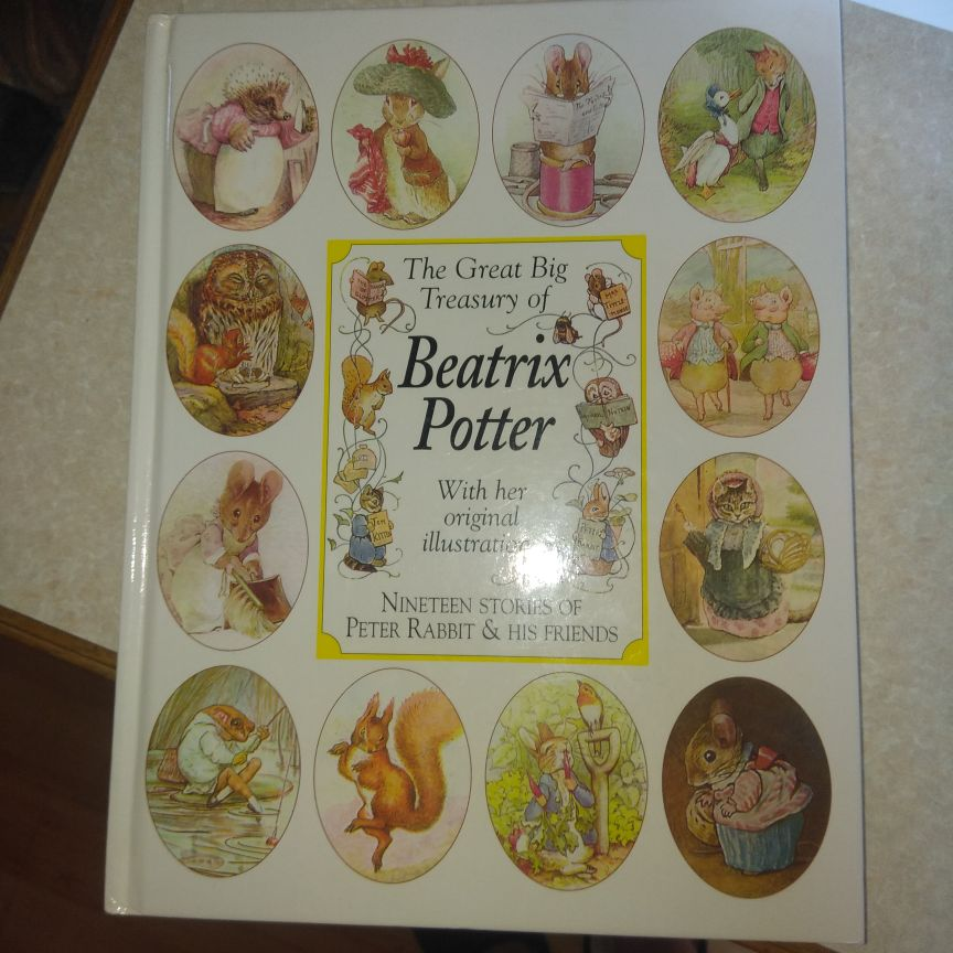 Original Beatrix potter book