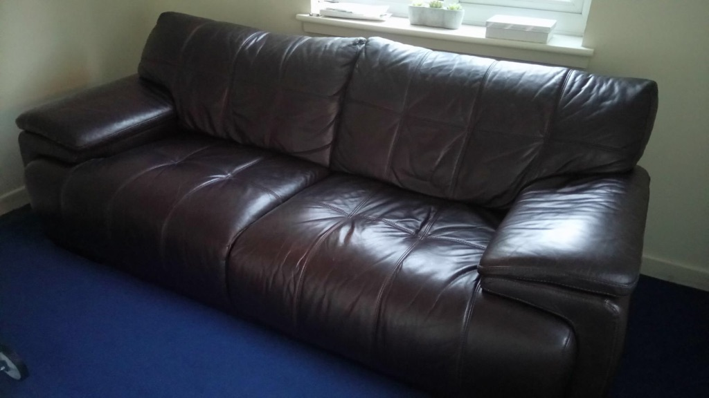 Real leather suites