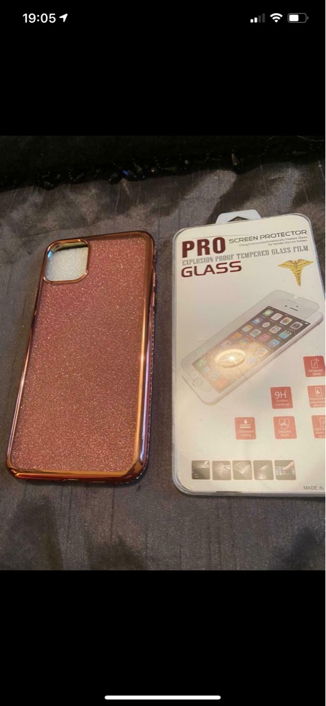 Brand new IPhone 11 case including protective cover