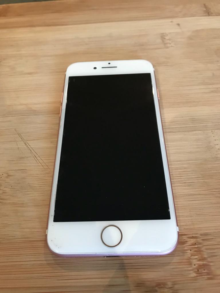 Rose Gold Apple Iphone 7 32gb O2 Village 32 Gb