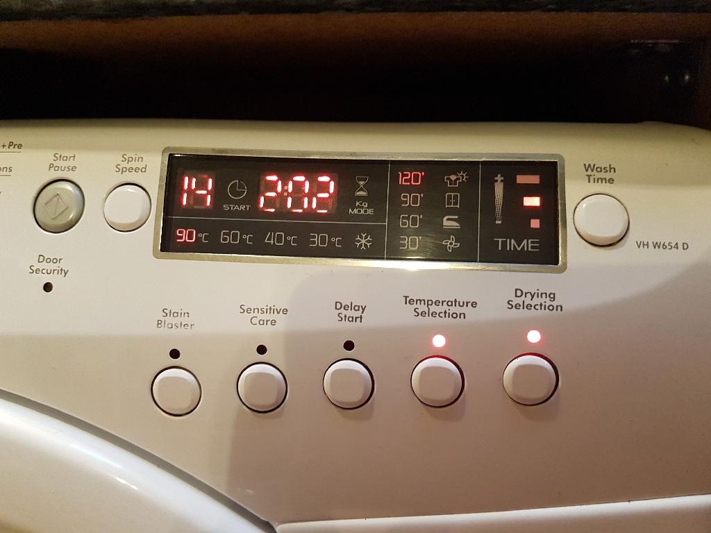 Washer dryer 6+5kg 1400rpm SensorDry