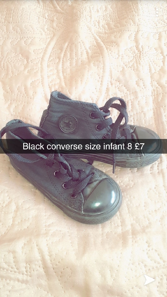 Girls shoes size infant 8 all of them