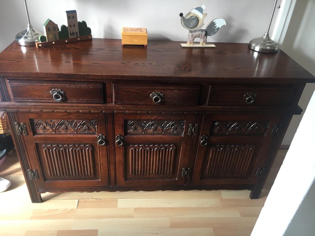 Tudor sideboard