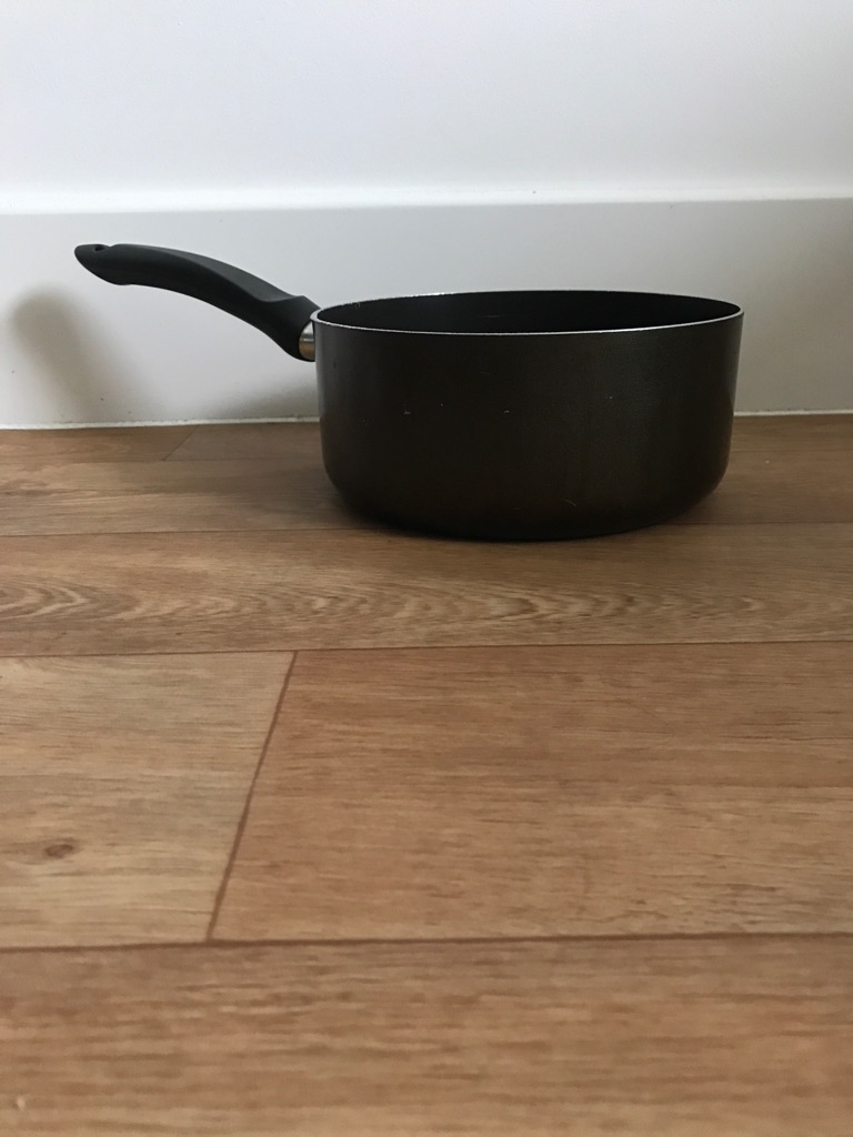 Black 20cm Saucepan