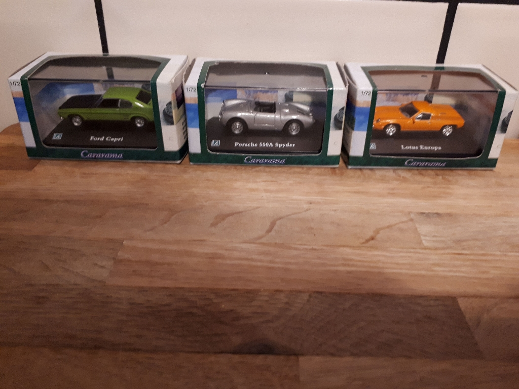 various collectable toy cars