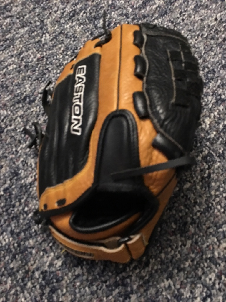 Easton baseball glove.