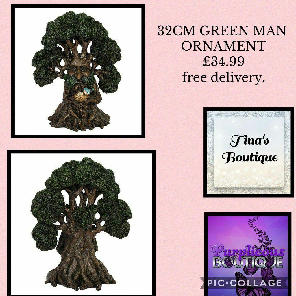 32CM GREEN MAN ORNAMENT