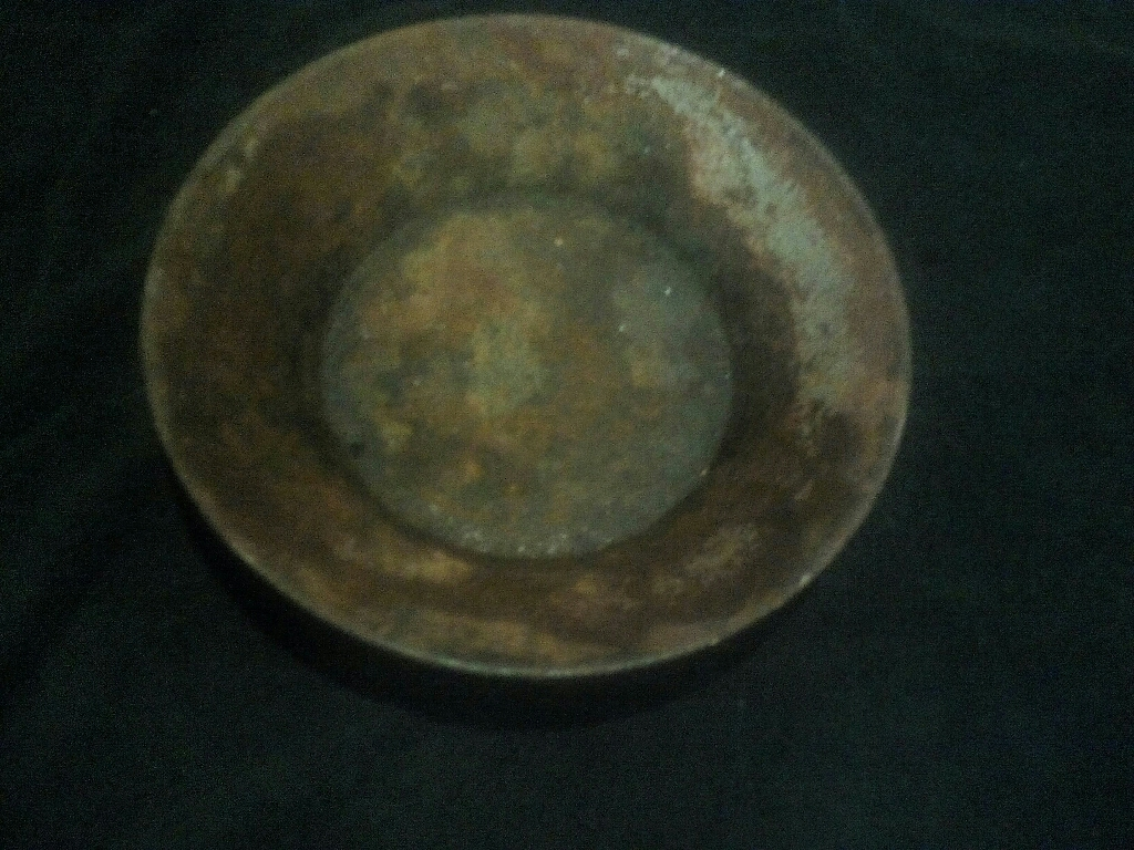 Very old rusty gold pan! Must see!
