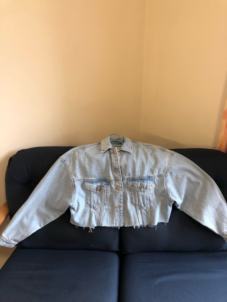 Zara Crop Denim Jacket