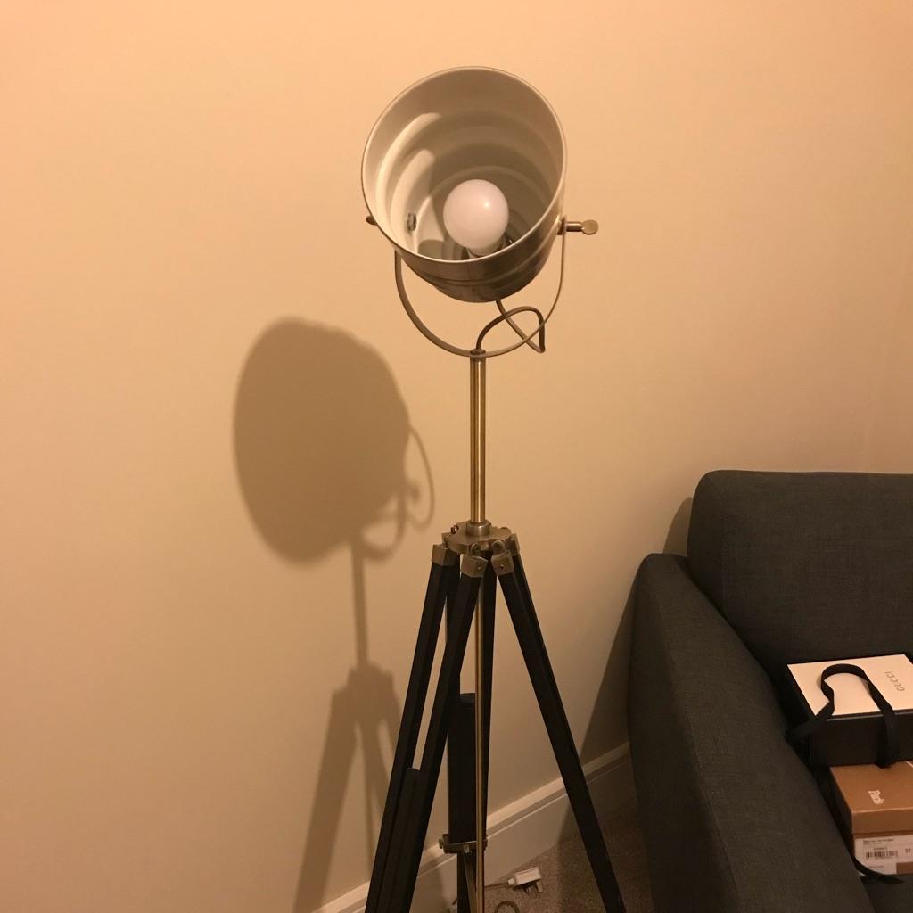 Tripod lamp for sale.