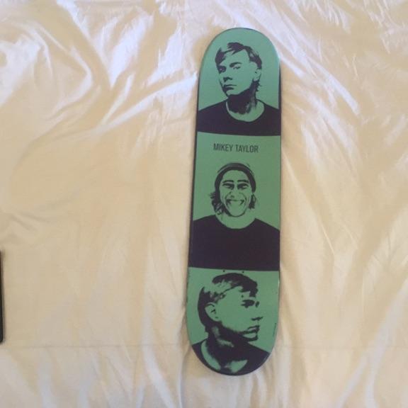 Skateboard Andy Warhol x Allien Workshop