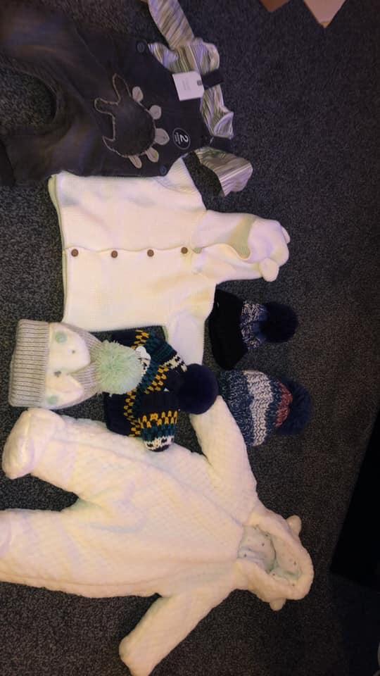 0-3 baby boy bundle