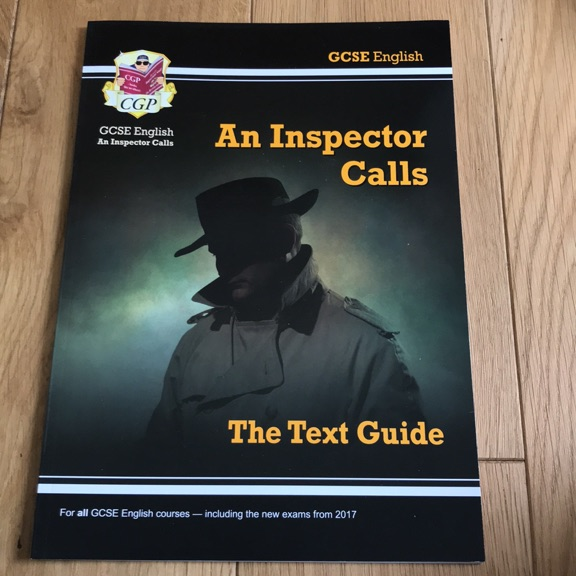 AN INSPECTOR CALLS TEXT GUIDE CGP
