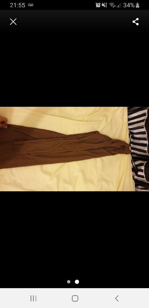 Bodycon dress (chocolate)