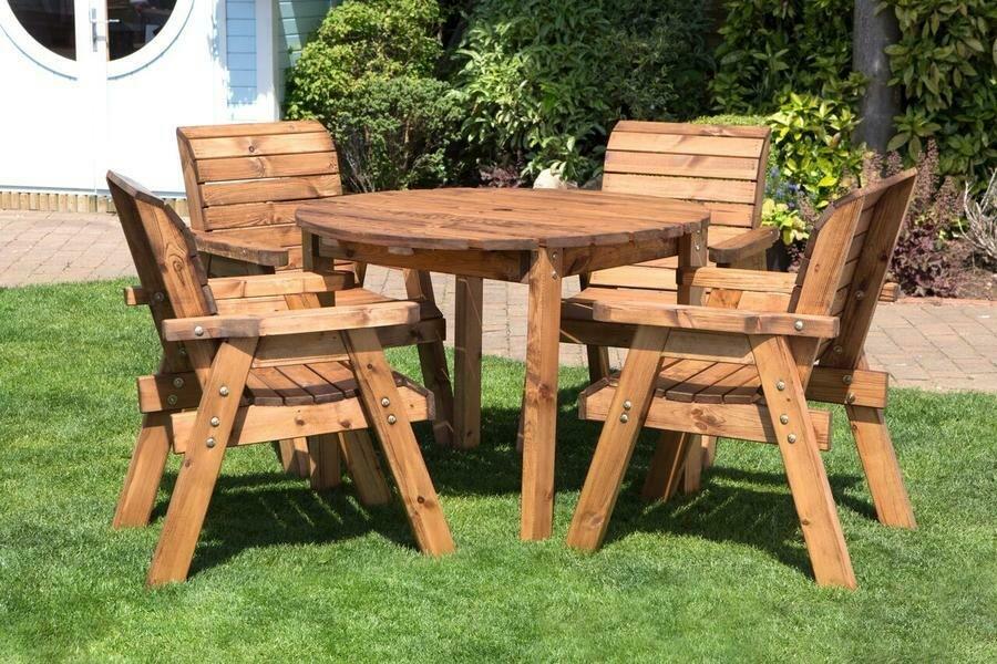 Charles Taylor Four Seater Circular Table Set