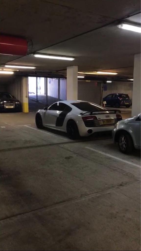 Car park. Parking lot.