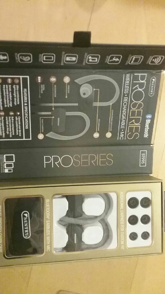 Proseries wireless earbuds