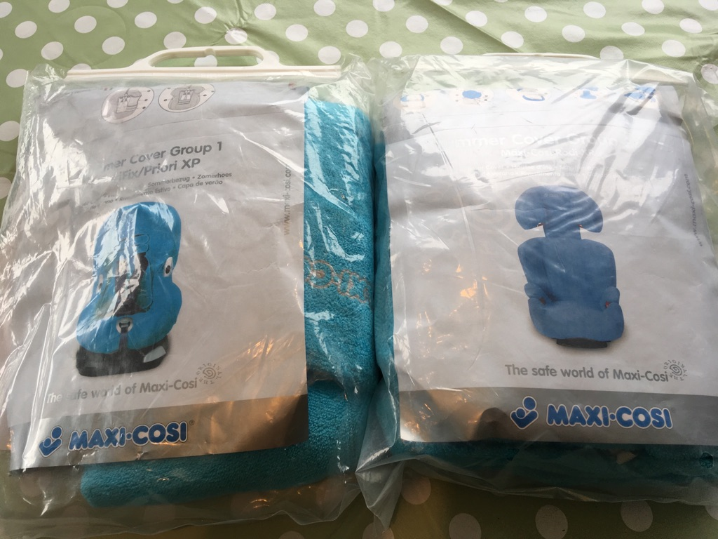 Children's car seat covers